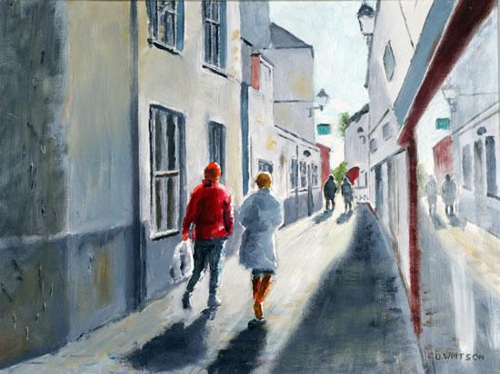 Bemister Lane Gosport - Art Prints and Oil Painting