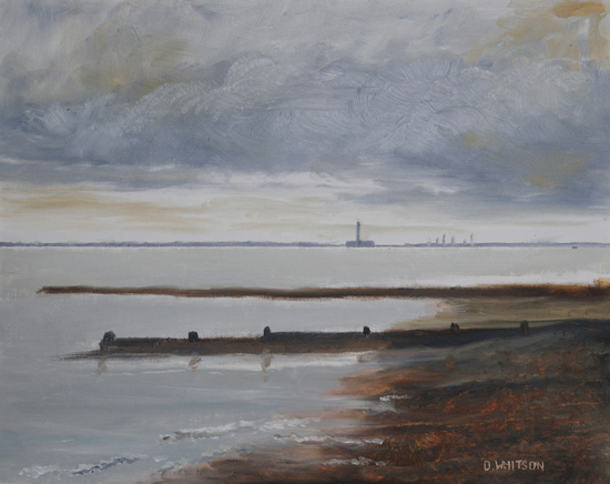 Hillhead Beach - Fareham Hampshire Art Gallery