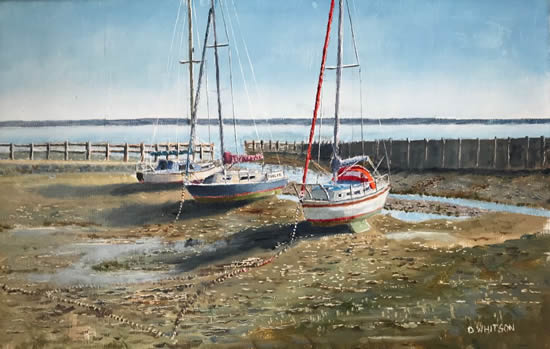 Low Water, Titchfield Haven Art