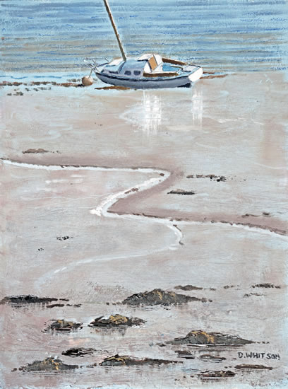 Mud Berth Portsmouth Harbour - Art Prints and Painting