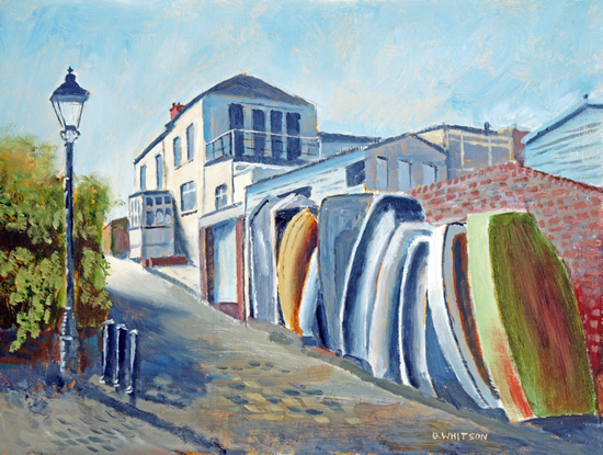 Old Hardway Lane - Art Prints and Painting For Sale
