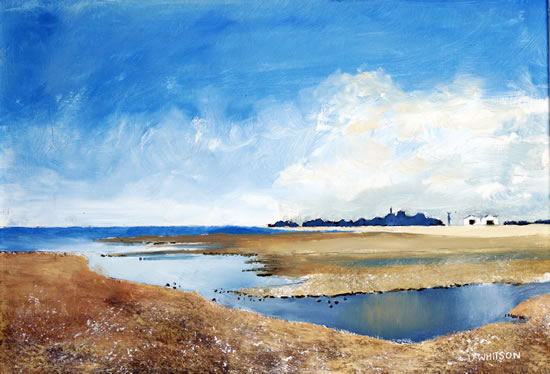 River Alver at Stokes Bay - Art Prints and Painting For Sale