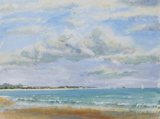 Stokes Bay Gosport Hampshire Art Gallery