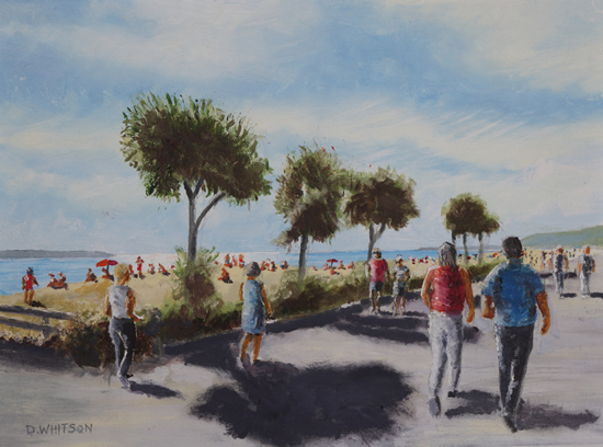 Summer Day Stokes Bay - Art Prints and Painting