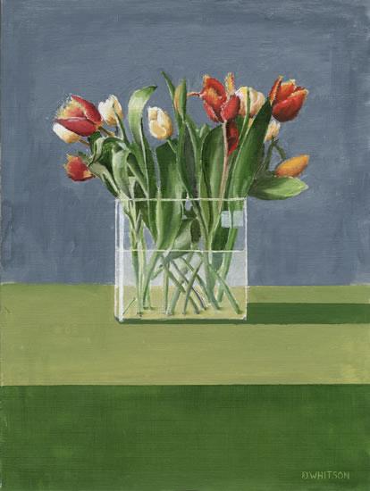 Tulips Rectangles Art Gallery