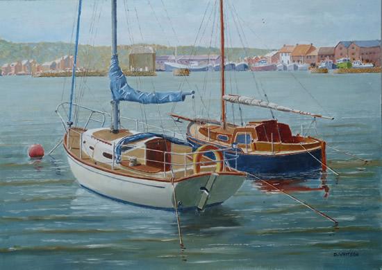 Yachts Howth Harbour Dublin Ireland - Art Gallery